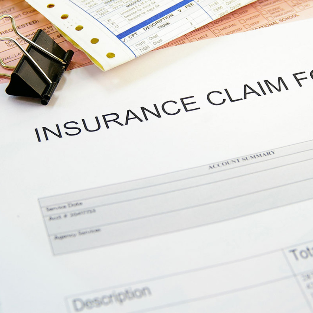 How far along are you with the insurance claim process?